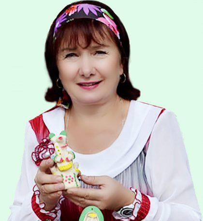 Хлудневская мастерица. АХАЛОВА ИНЕССА АЛЕКСЕЕВНА